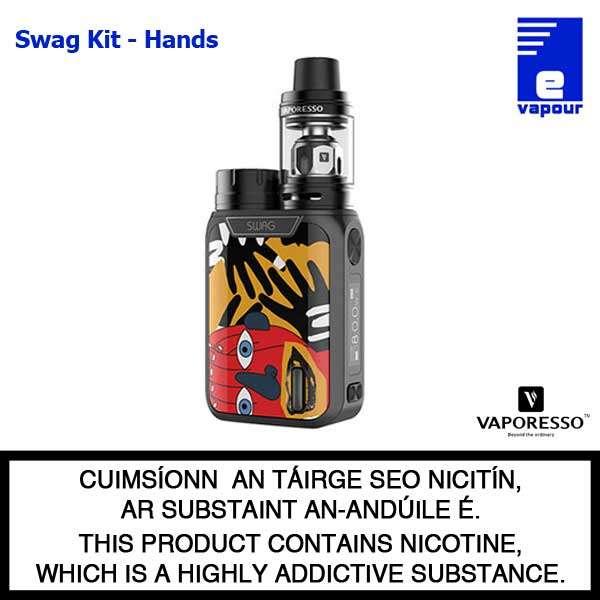 Vaporesso Swag Kit - Hands