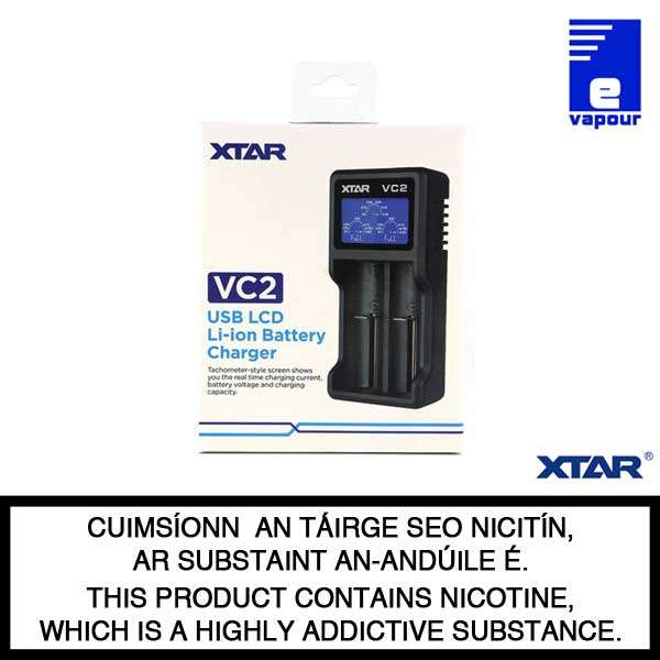Xtar VC2 - Double Bay Charger