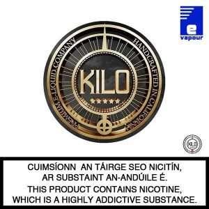 Kilo Premium E-Liquids Logo