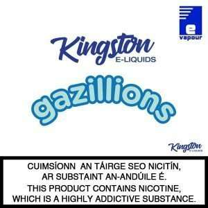 Kingston Gazillions e-liquid logo
