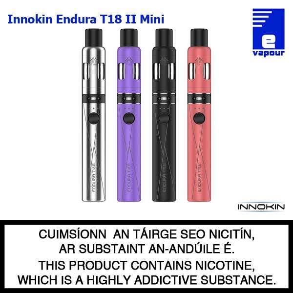 Innokin Endura T18 II Mini Kit - 4 Colours