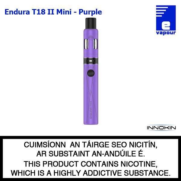 Innokin Endura T18 II Mini Kit - Purple