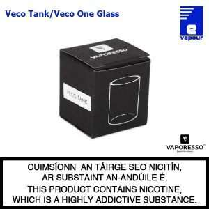 Veco Tank/ Veco One Kit Replacement Glass