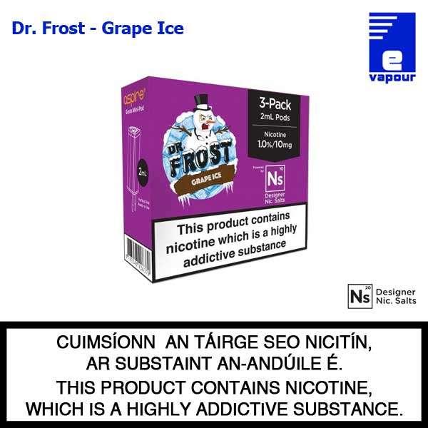 Aspire Gusto Mini Pods - Dr Frost - Grape Ice