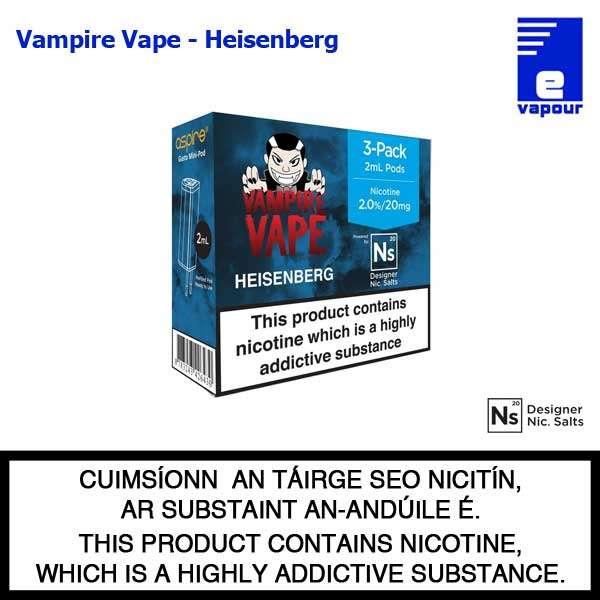 Aspire Gusto Mini Pods - Vampire Vape - Heisenberg