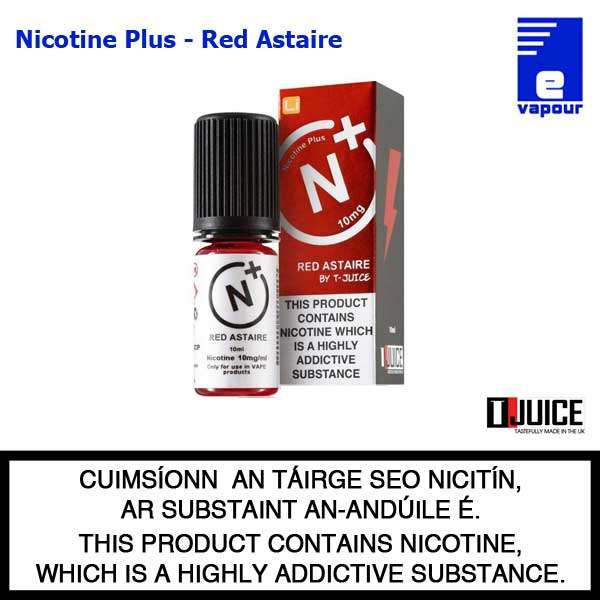 Nicotine Plus (by T-Juice) - Red Astaire