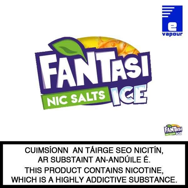 Fantasi Ice Nic Salts - Large Logo