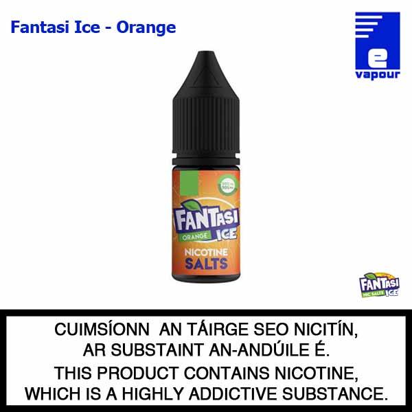 Fantasi Ice Nic Salts - Orange