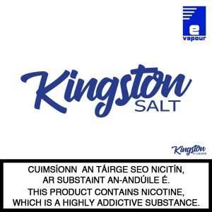 Kingston Salt e-liquid - Logo Large