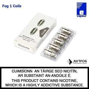 JustFog Fog 1 Replacement Coils - 5 Pack
