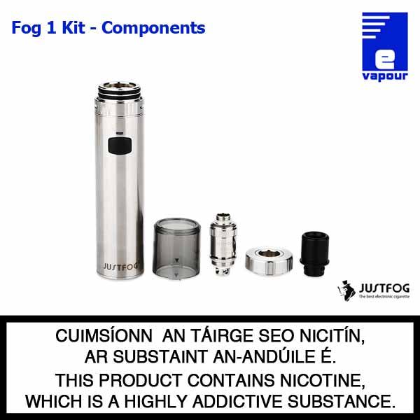 JustFog Fot 1 - Components