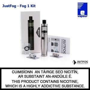 JustFog Fog 1 Starter Kit - Silver