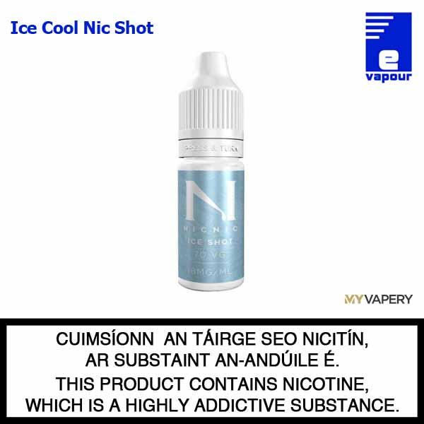 NicNic - Ice Cool Nicotine Shot