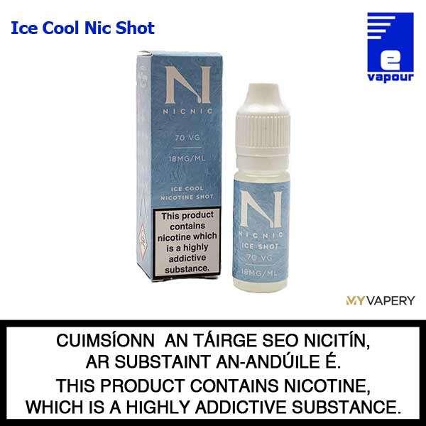 NicNic Ice Cool Nicotine Shot - 18mg