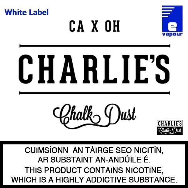 Charlie's Chalk Dust White Label 50ml Shortfill's