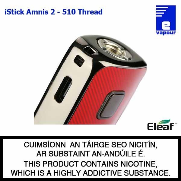 Eleaf iStick Amnis 2 Battery - 510 Thread