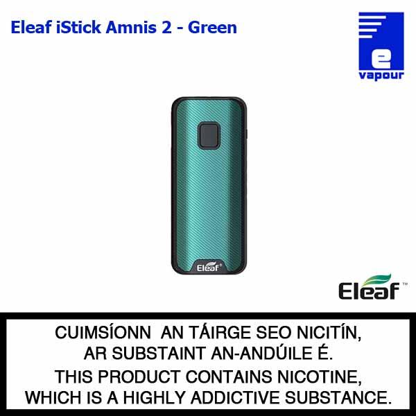 Eleaf iStick Amnis 2 Battery - Green