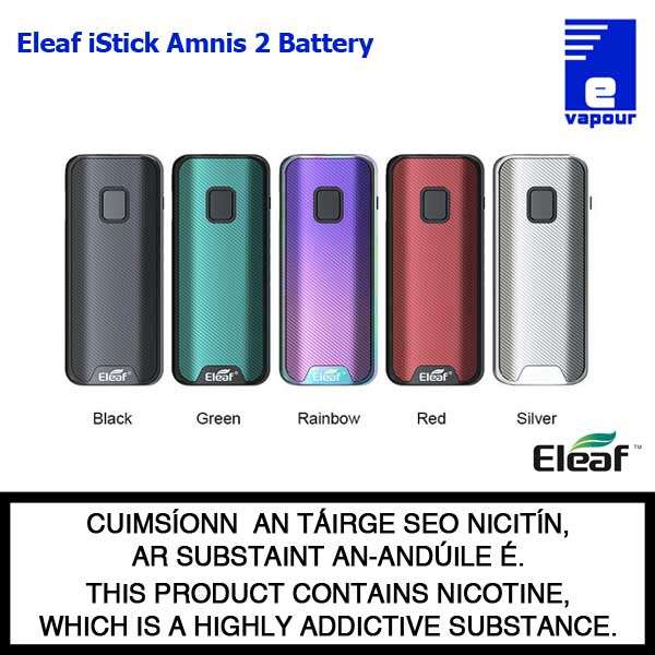 Eleaf iStick Amnis 2 Battery - All Colours