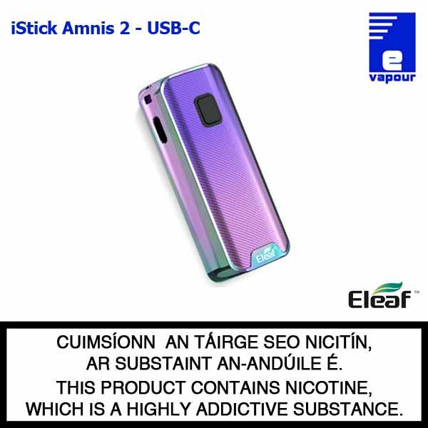 Eleaf iStick Amnis 2 Battery - USB C