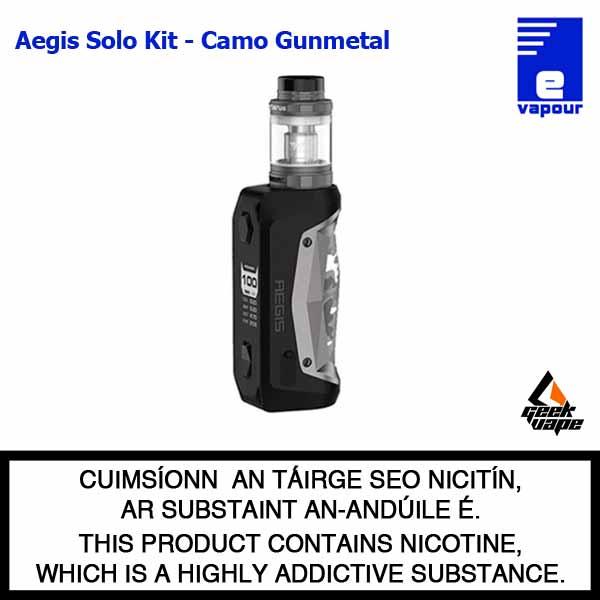 Geekvape Aegis Solo - Camo Gunmetal