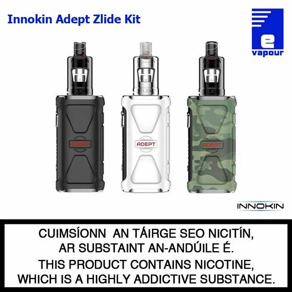 Innokin Adept Zlide Starter Kit - 3 Colours