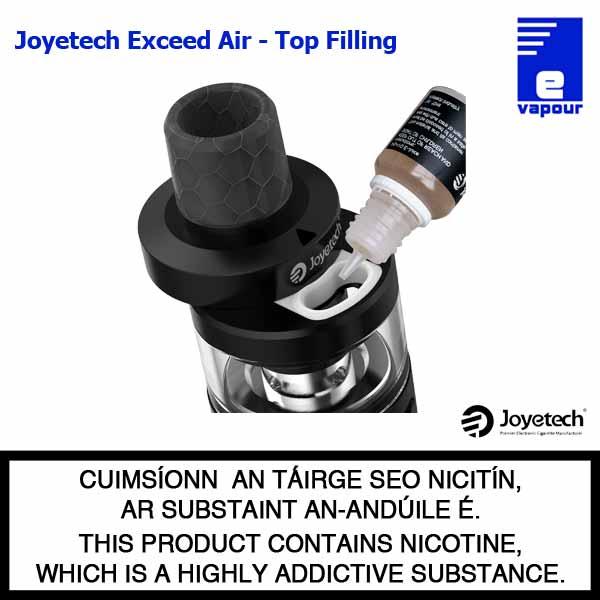 Joyetech Exceed Air Tank - Top Filling