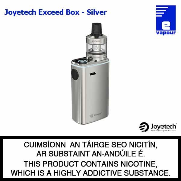 Joyetech Exceed Box Starter Kit - Silver
