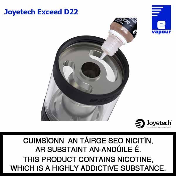 Joyetech Exceed D22 - Top Filling