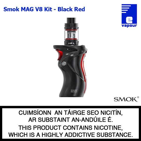 Smok MAG V8 Starter Kit - Black Red