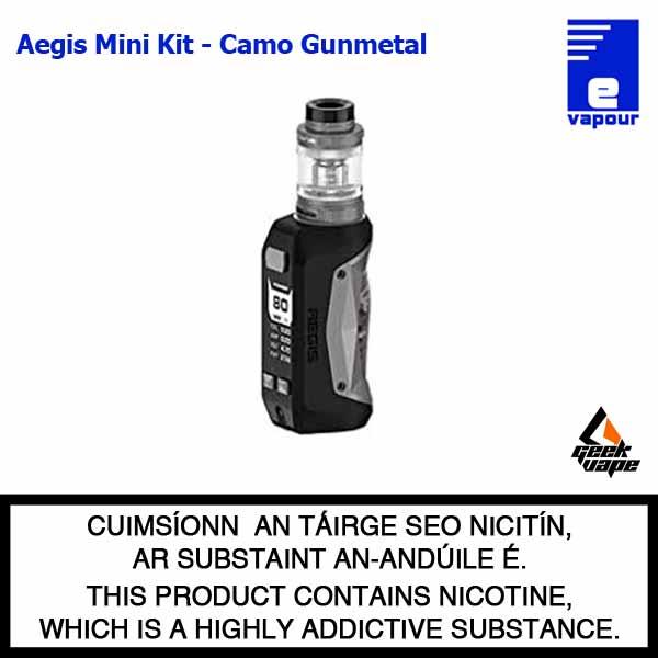 Geekvape Aegis Mini Starter Kit - Camo Gunmetal
