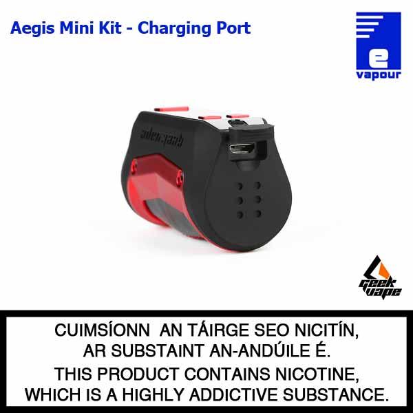 Geekvape Aegis Mini Starter Kit - Charging Port