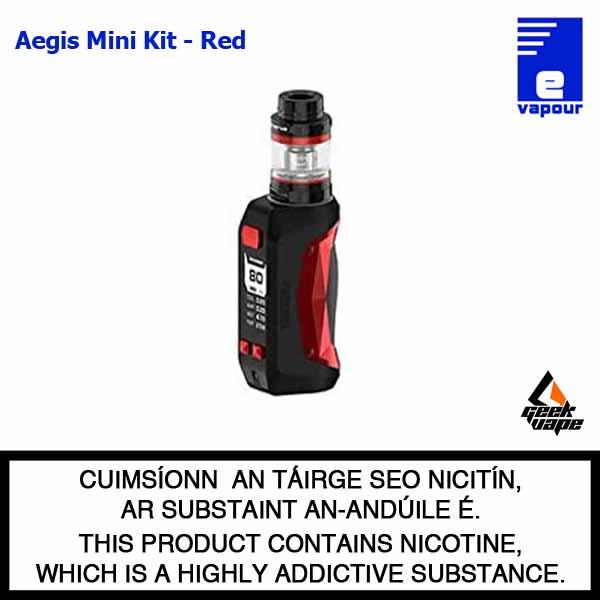 Geekvape Aegis Mini Starter Kit - Red