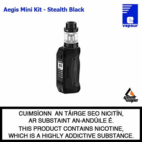 Geekvape Aegis Mini Starter Kit - Stealth Black