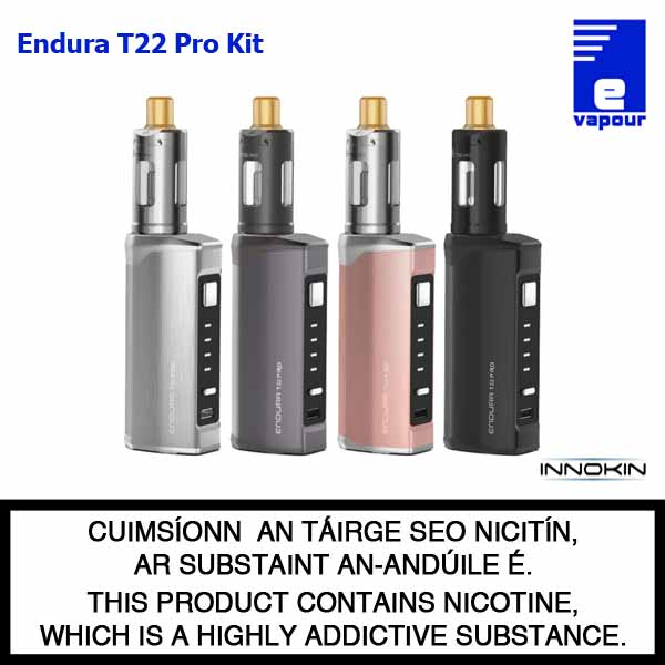 Innokin Endura T22 Pro Starter Kit - 4 Colours