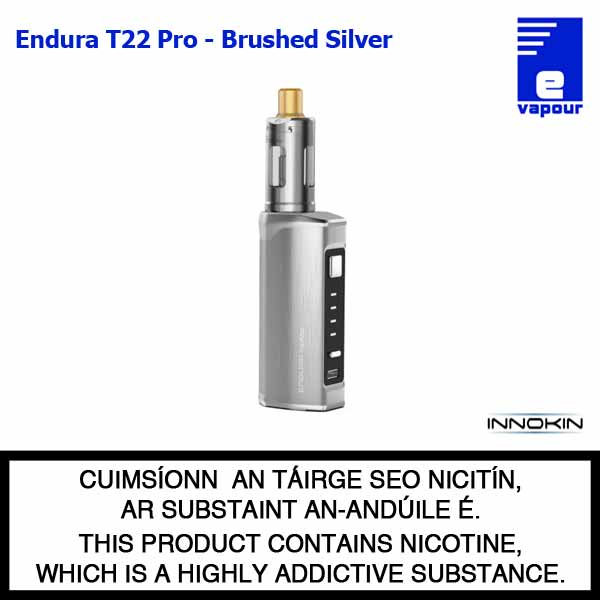 Innokin Endura T22 Pro Starter Kit - Brushed Silver