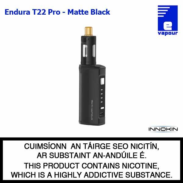 Innokin Endura T22 Pro Starter Kit - Matte Black