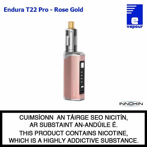Innokin Endura T22 Pro Starter Kit - Rose Gold