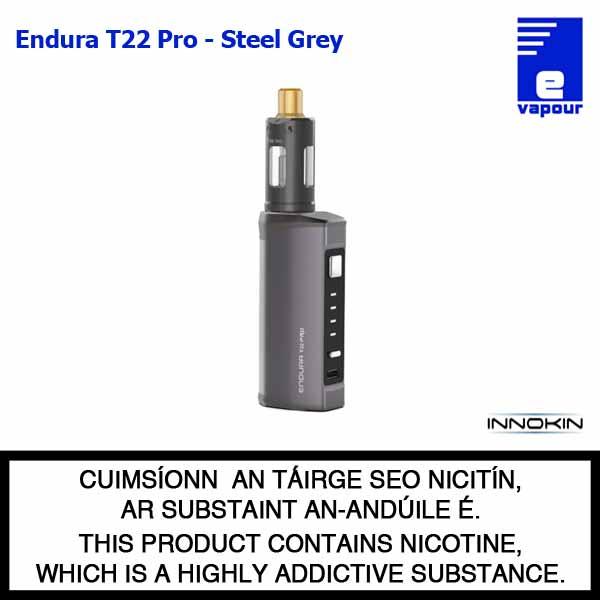 Innokin Endura T22 Pro Starter Kit - Steel Grey