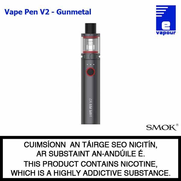 Smok Vape Pen V2 Starter Kit - Gunmetal