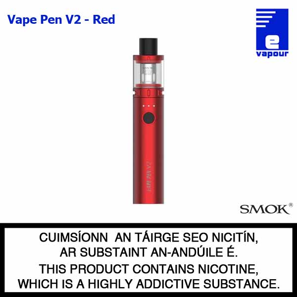 Smok Vape Pen V2 Starter Kit - Red