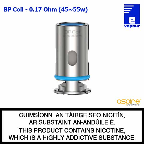 Aspire BP Coil Range - 0.17 Ohm