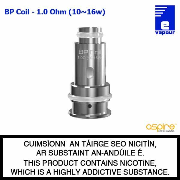 Aspire BP Coil Range - 1.0 Ohm