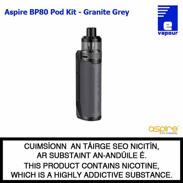 Aspire BP80 Pod Kit - Granite Grey