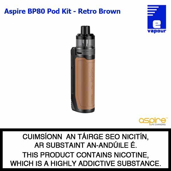 Aspire BP80 Pod Kit - Retro Screen