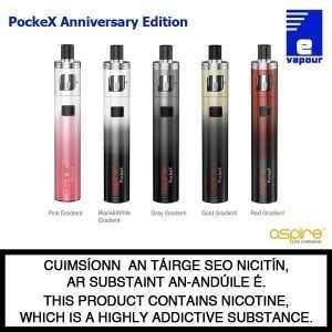 Aspire PockeX Starter Kit Anniversary Edition - All Colours