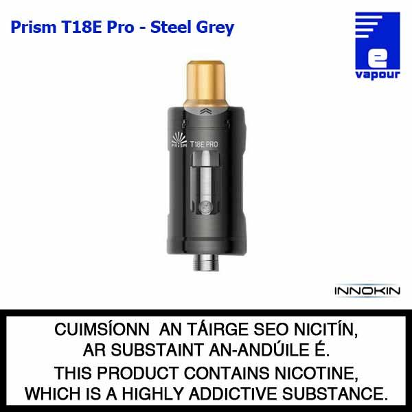 Innokin Prism T18E Pro Tank - Steel Grey