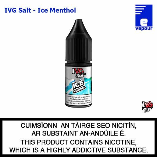IVG Nic Salt - Ice Menthol