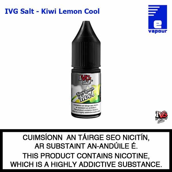 IVG Nic Salt - Kiwi Lemon Cool