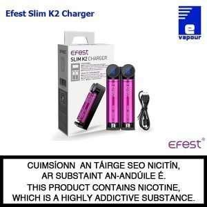 Efest Slim K2 - Double Bay Charger
