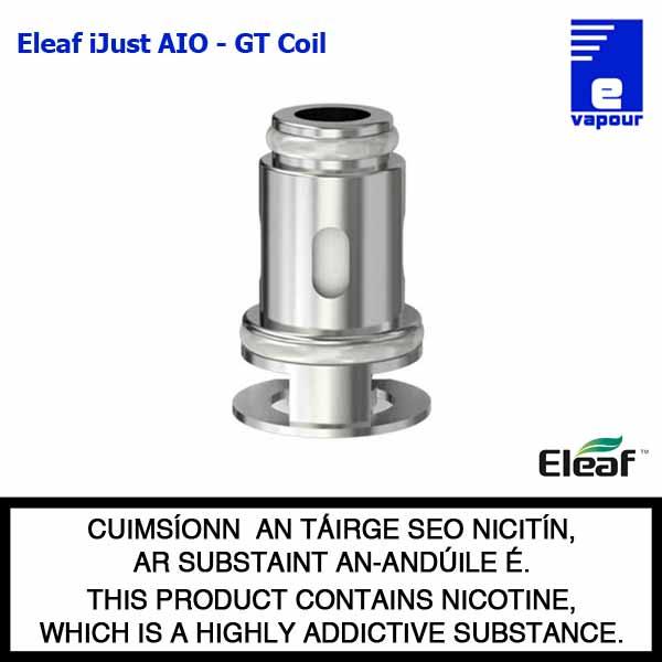 Eleaf iJust AIO - Eleaf GT Coil Range